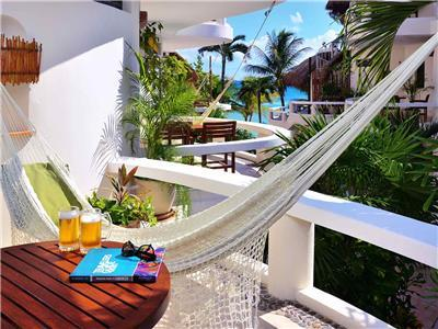 Balcony and Hammock