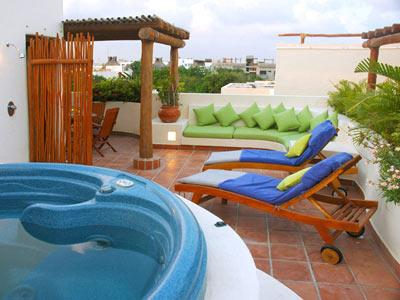 Two Bedroom Penthouse - with Jacuzzi