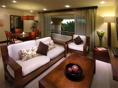 Penthouse con Dos Recámaras - Sala de Estar