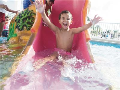 Kids Pool - Water Slide