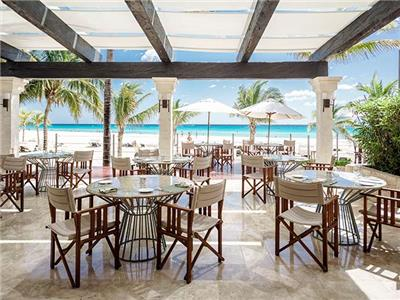 Restaurante The Grill Royal Hideaway Playacar Adults Only