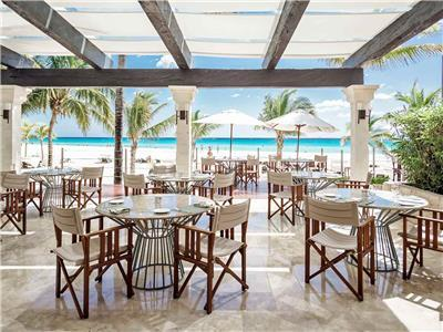 Restaurante The Deck Royal Hideaway Playacar Adults Only