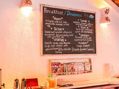 Breakfast Area - Board