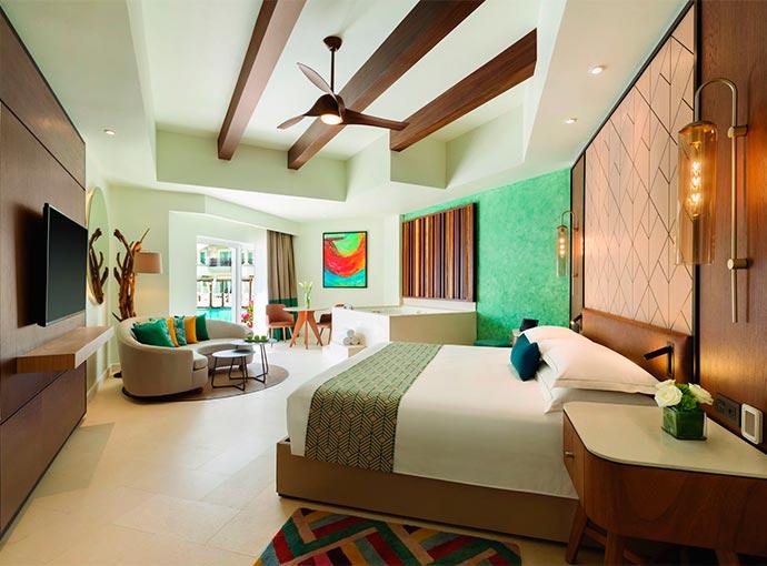 Junior Suite Pool View - 1 King Bed