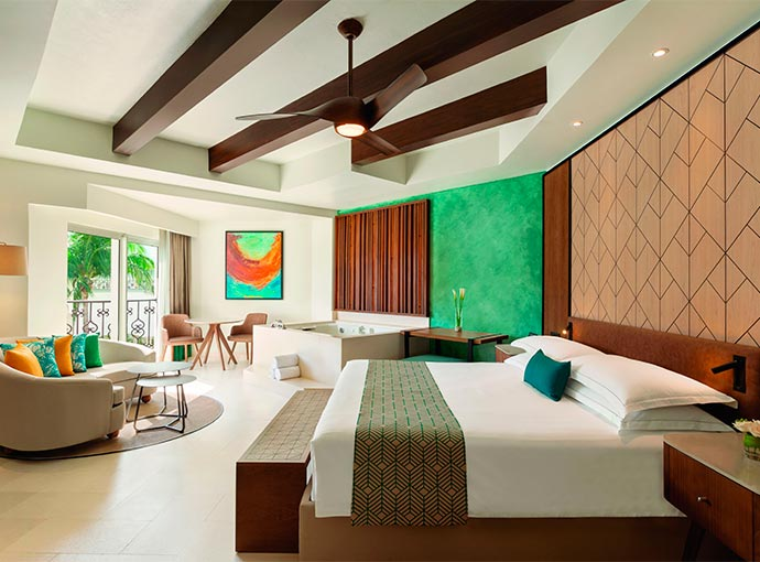 One Bedroom Suite - 1 King Bed