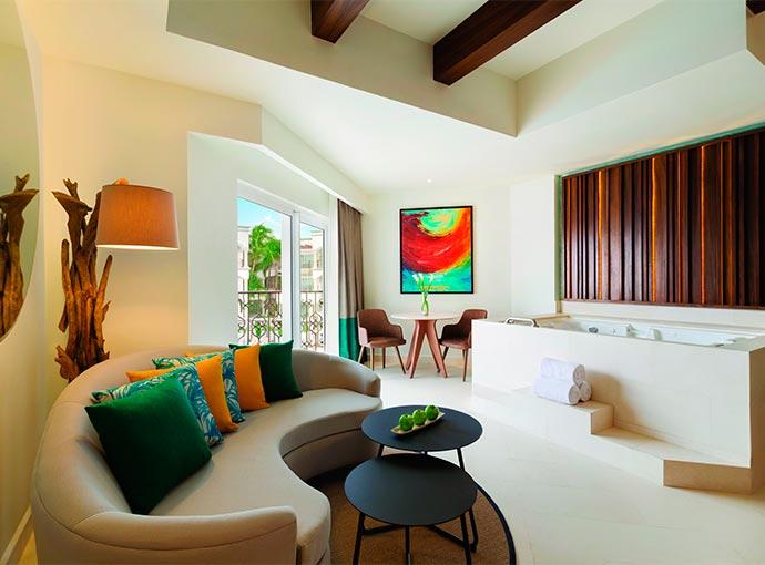 Junior Suite Ocean View - 1 King Bed