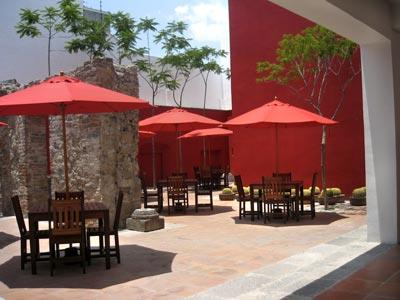 The Red Patio