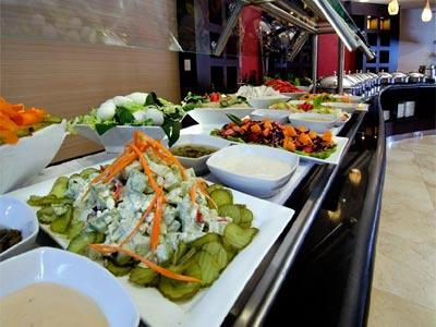 Courtyard Cafe - Salad Bar