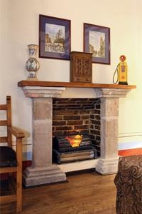 King - Fireplace