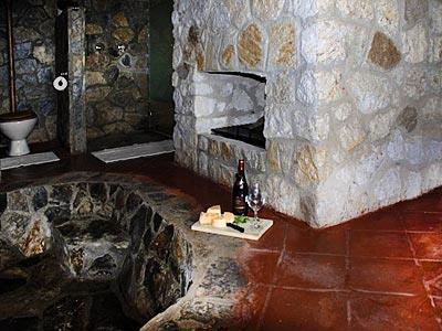 Cabaña Chica - Baño