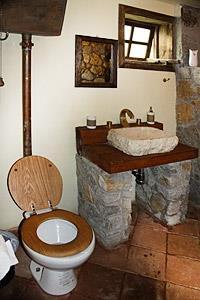Cabaña Grande - Baño
