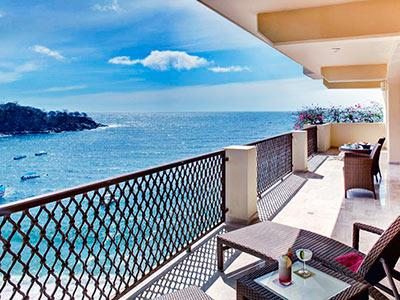 Suites with Ocean View - terrace