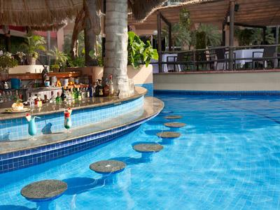 Bikini Bar Swim Up Side Fiesta Americana Puerto Vallarta All Inclusive & Spa