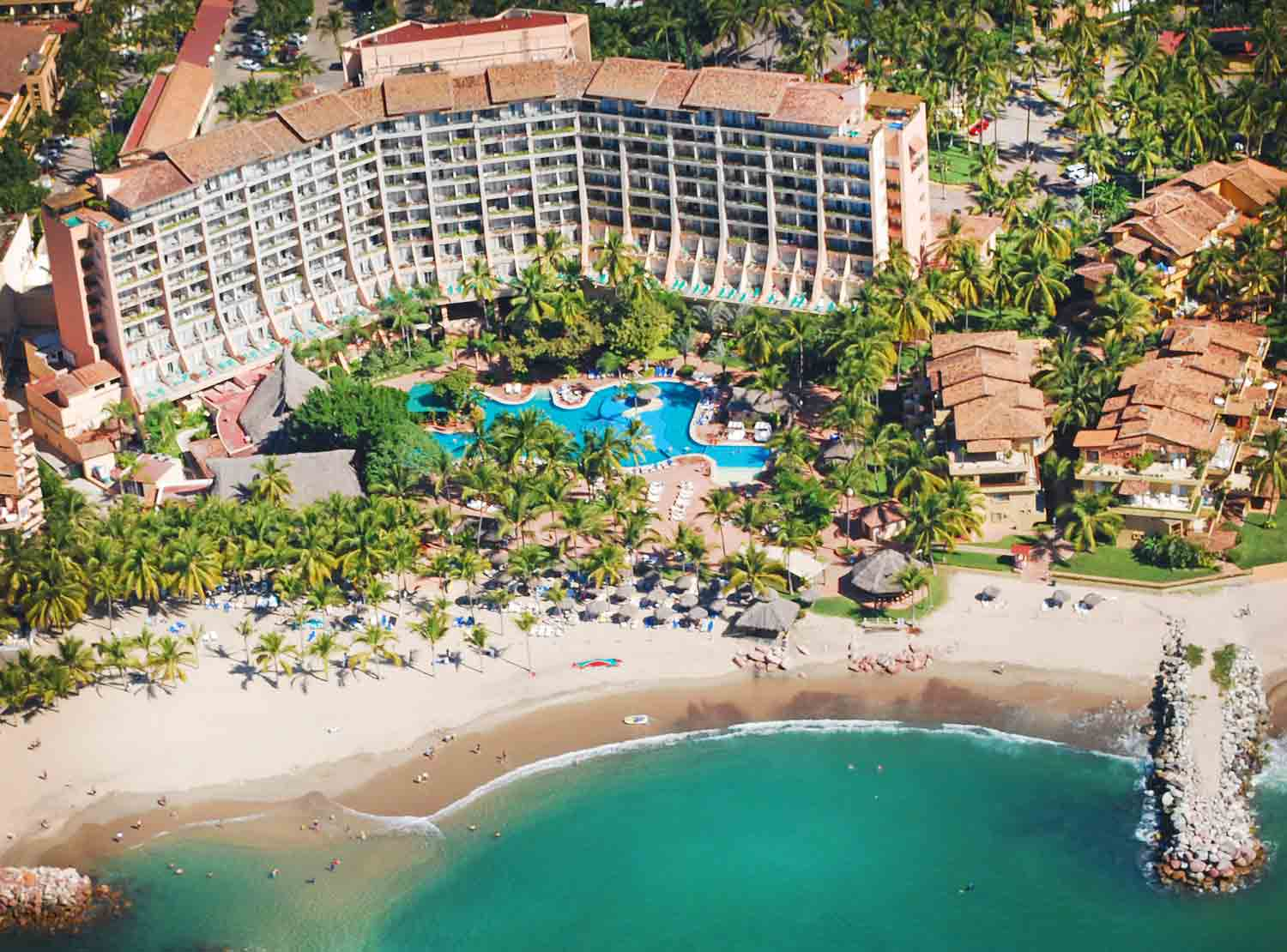 fachada Fiesta Americana Puerto Vallarta All Inclusive & Spa