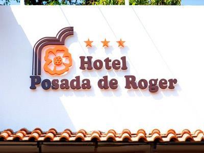 Anuncio en la entrada del Hotel