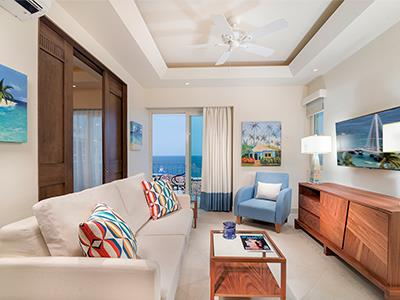 Sala de Estar - Suite Ocean View