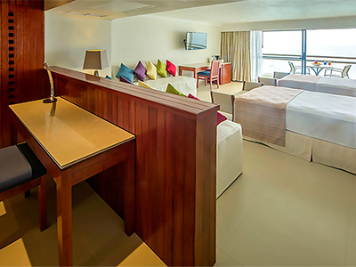 Junior Suite Familiar Frente al Mar