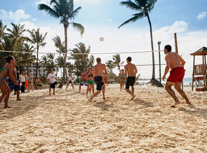 barcelo-punta-cana-volleyball Occidental Caribe