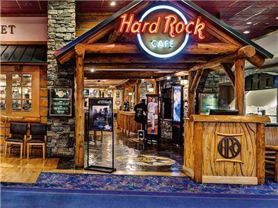 Hard Rock Cafe Restaurant Harveys Lake Tahoe Stateline Nevada