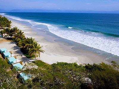 Playa - Cabañas