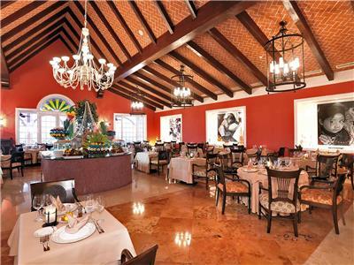 Caribe Restaurant Barcelo Maya Palace