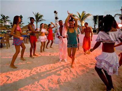 Fiesta en la playa