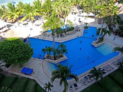 Pool Area - View from Guest Rooms