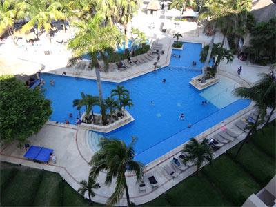 Pool -Aerial View
