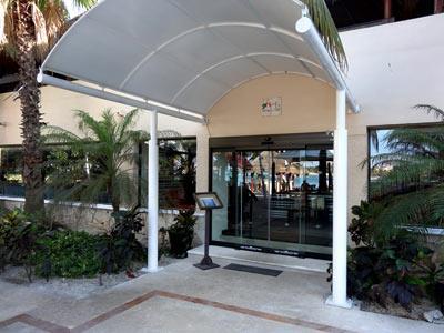 World Cafe - Entrance