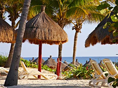 Camastros - Playa