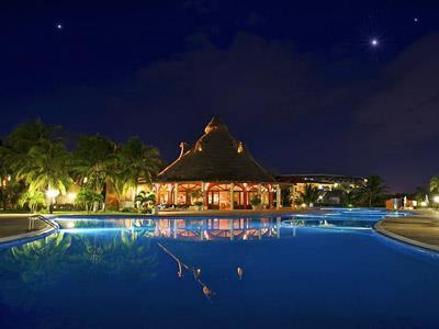 Pool -Nighttime View