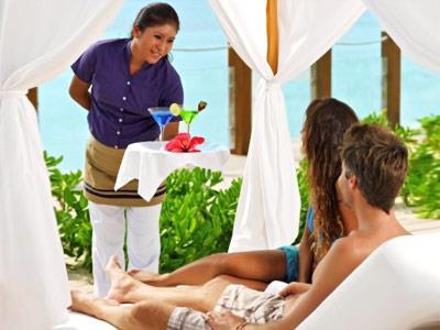 Beach Waiter Service
