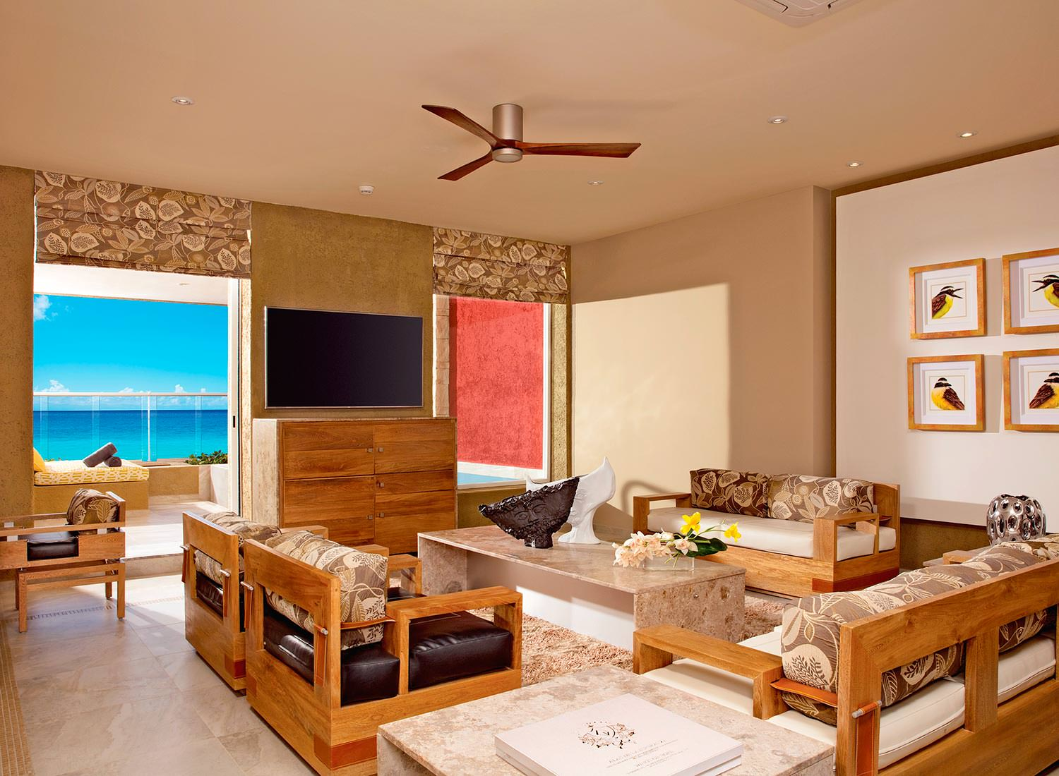 Impression Ocean Front One Bedroom Suite with Pool