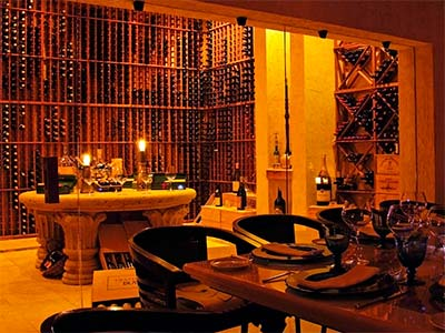 Private Dinner Wine Cellar