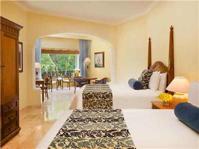 Preferred Junior Suite Tropical View Double Beds