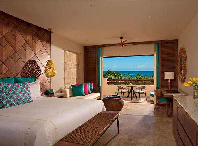 Junior Suite con Vista al Mar King