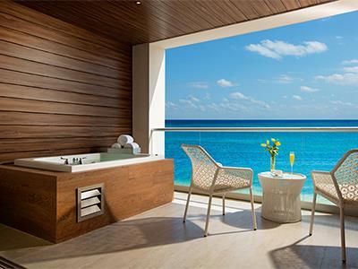 Habitaciones  Xhale Club Junior Suite - Terraza