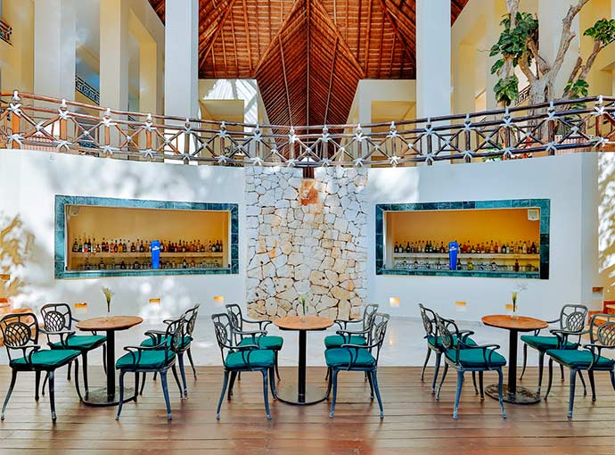Lobby Bar Occidental at Xcaret Destination
