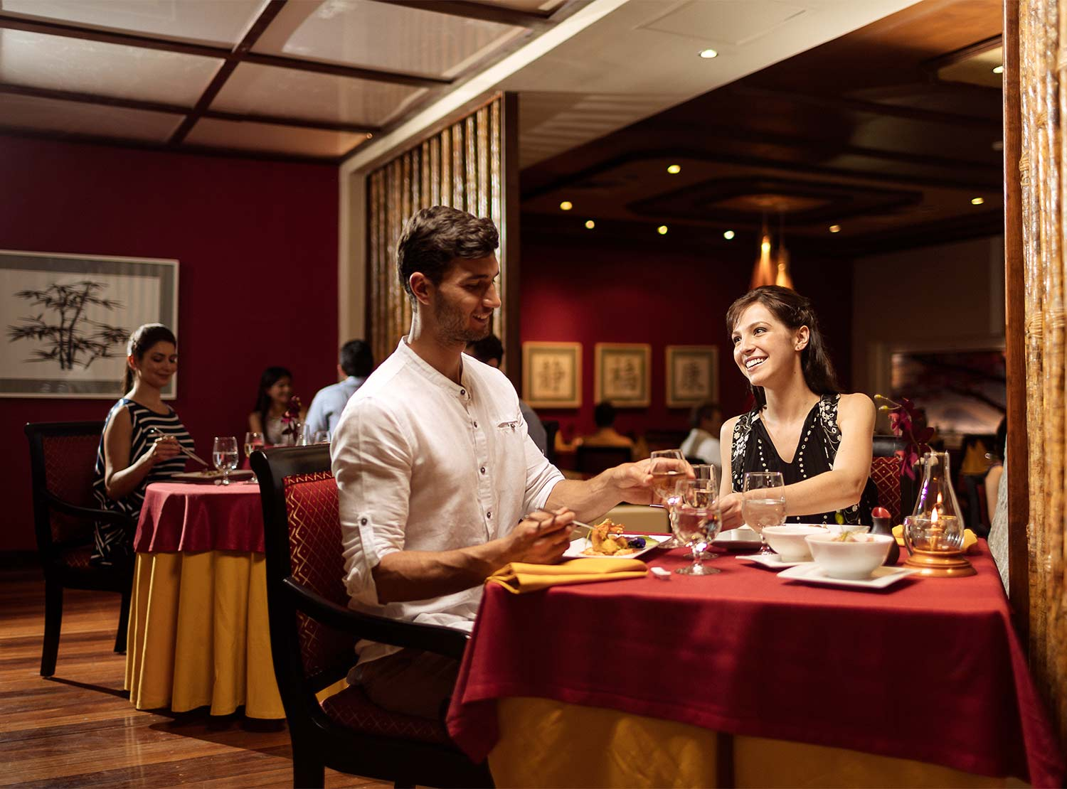 Restaurante D'Oriental Occidental at Xcaret Destination