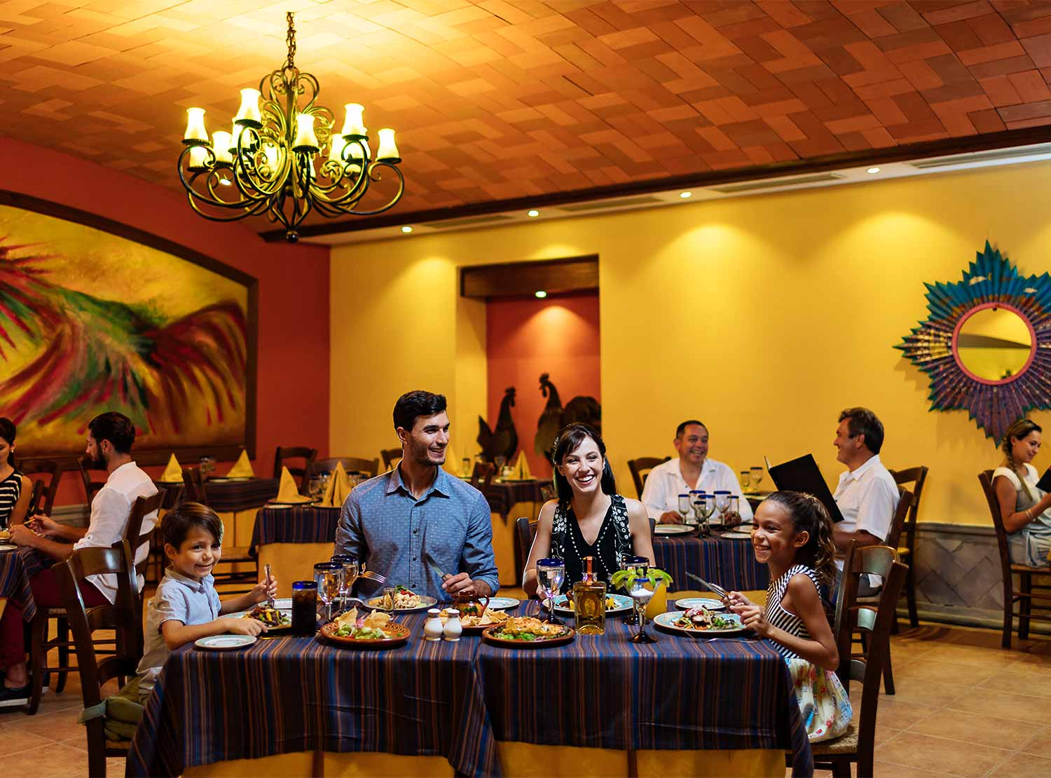 Restaurante La Hacienda Occidental at Xcaret Destination