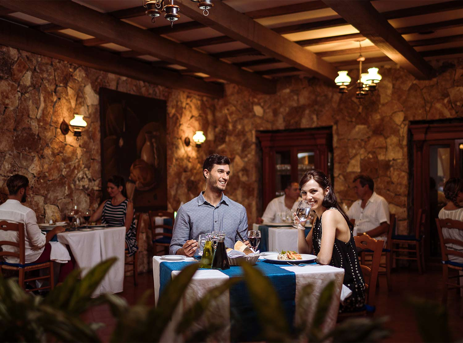 Restaurante Los Olivos Occidental at Xcaret Destination