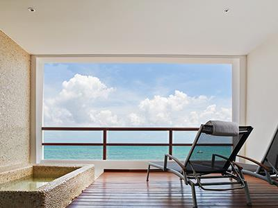 Ocean Front Suite - Piscina Privada