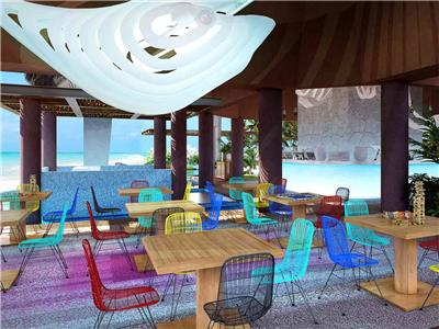 Restaurante Chibali Hotel Xcaret Mexico - All Parks and Tours / All Fun Inclusive