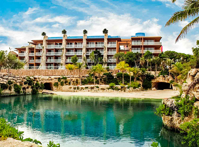 fachada Hotel Xcaret Mexico - All Parks and Tours / All Fun Inclusive