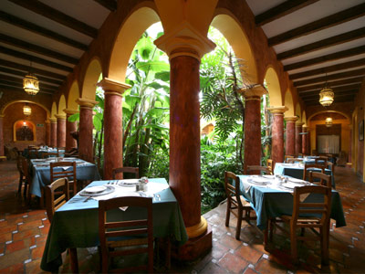 Los Magueyes - Terraza