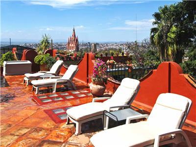 Hotel Hacienda De Las Flores In San Miguel De Allende