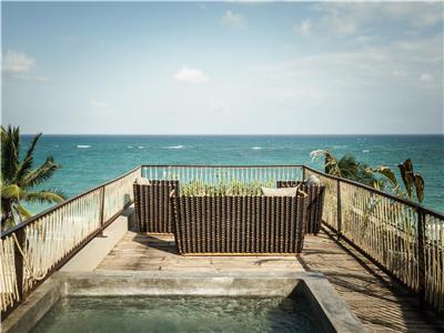Suite Frente al Mar - Terraza