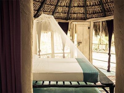 Maya Jungla Cabaña 1 Cama Matrimonial