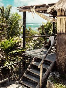 Maya Cabaña Frente Al Mar 2 Camas Matrimoniales
