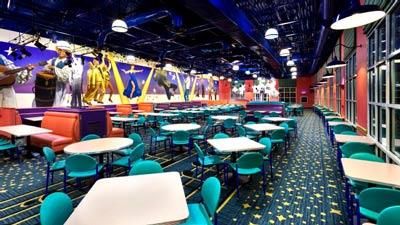 Intermission Food Court Disneys All Star Music Resort